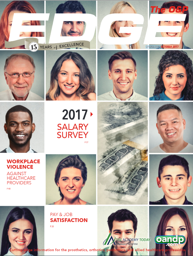 The O&P EDGE 2017 Salary Survey